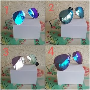 Accessories - 2019  CLEAR AVIATOR STYLE WOMAN  SUNGLASSES  100%